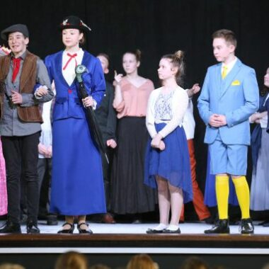 """""""PRACTICALLY PERFECT"""" STUDENTS PRESENT MARY POPPINS JR"""