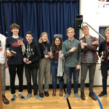PARA-TRIATHLETE INSPIRES BECCLES STUDENTS AT ANNUAL CELEBRATION EVENING