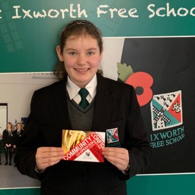MY FIRST TERM AT IXWORTH FREE SCHOOL