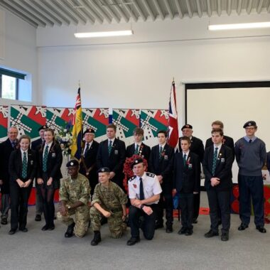 STUDENTS AT SECKFORD FOUNDATION FREE SCHOOLS MARK REMEMBRANCE DAY