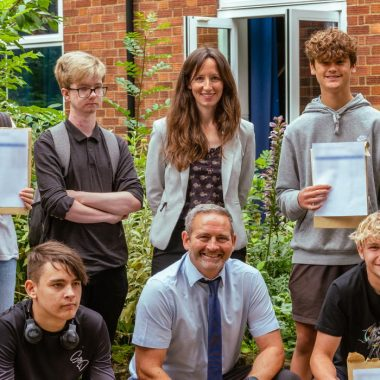 Students celebrate 2021 GCSE results across the Seckford Education Trust
